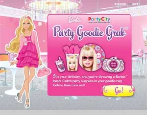 Barbie Party Goodie Grab