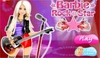 Rockstar Barbie Dress Up